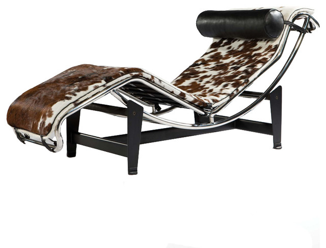 Chloe Pony Skin Chaise contemporary-day-beds-and-chaises