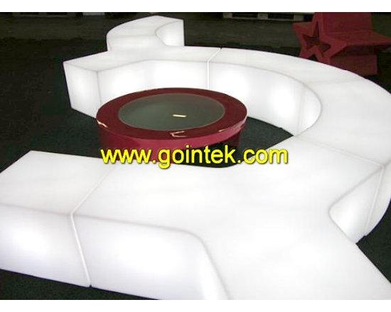 LED lighting bench -