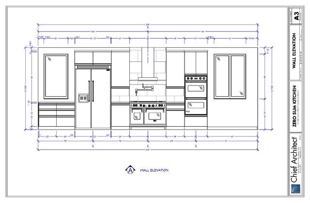 29 model interior kitchen elevations for Kitchen cabinets elevation