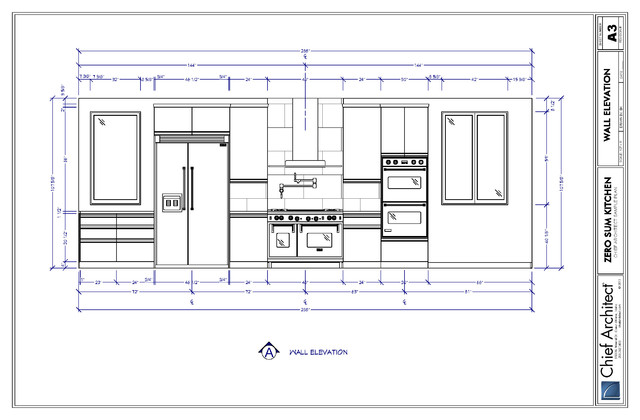 Zero Sum Kitchen Traditional Other Metro By Chief Architect