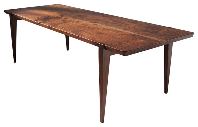 oslo dining table oregon walnut 96 x 40