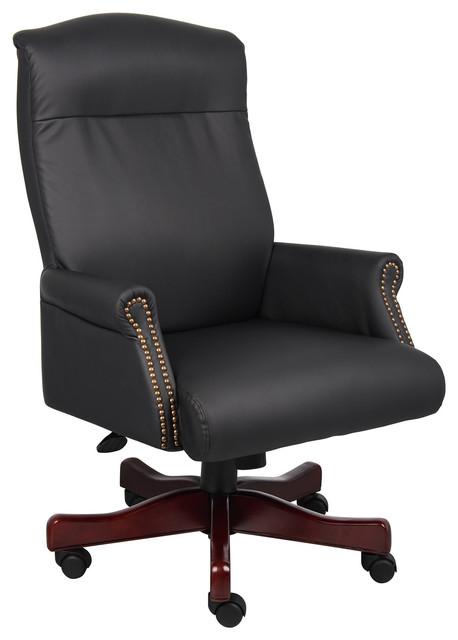 Boss Chairs Boss Traditional Executive Chair traditional-office-chairs