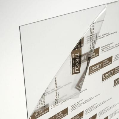 Acrylic Sheets: 48 in. x 96 in. x .118 in. Clear Polycarbonate Sheet GE-100 contemporary-sheets