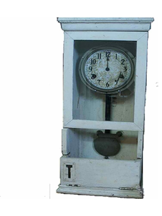 Vintage Time Clock - If you MUST be a slave to a time clock, somehow this Antique/Vintage clock makes it a little less painful.