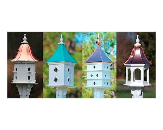 Large Vinyl Birdhouses and Dovecotes -