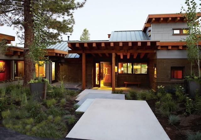 Sunset Idea House modern-exterior