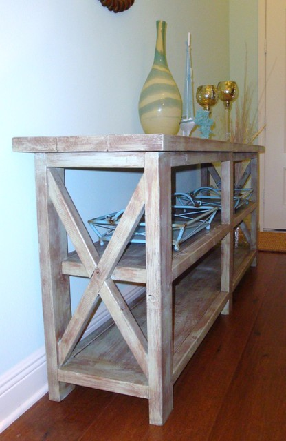 Rustic Console side-tables-and-end-tables