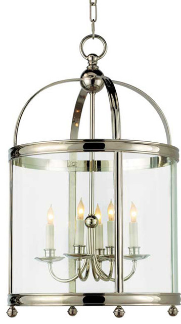 Medium Round Edwardian Entry Lantern traditional-chandeliers
