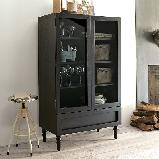 new turned foot dining vitrine modern indoor pub and. Black Bedroom Furniture Sets. Home Design Ideas