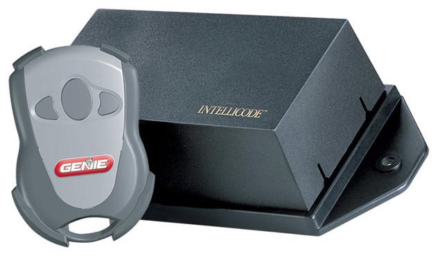 Genie GIRUD-1T Dual Frequency Universal Radio Garage Door Opener contemporary-garage-doors-and-openers