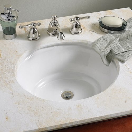 American Standard Tudor 0632000 Undermount Bathroom Sink Contemporary Bathroom Sinks By