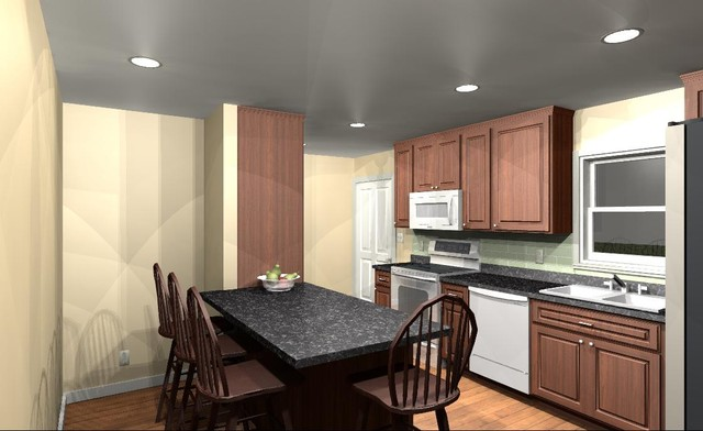 McMillian Small Kitchen Remodel Traditional Kitchen Other Metro