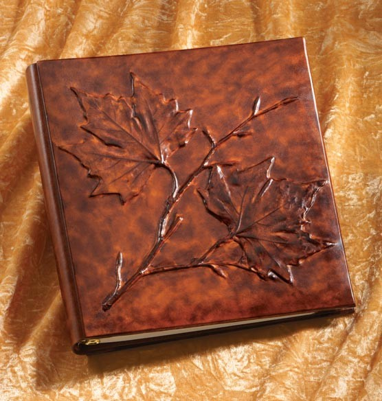 Foglia Leather Photo Album