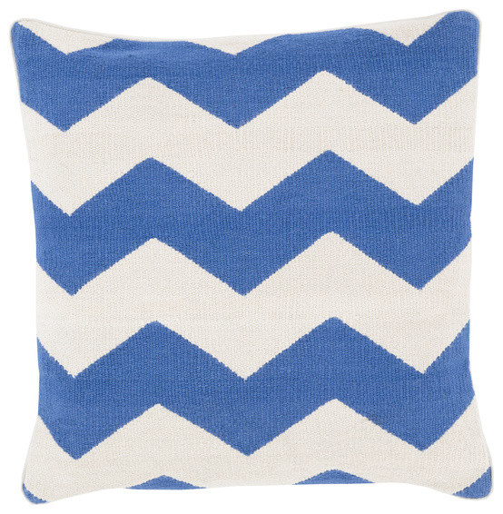 Lane blue and white pillow contemporary-decorative-pillows