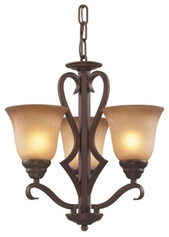 ELK Lighting Lawrenceville Chandelier 9326/3 - 17W in. contemporary-chandeliers