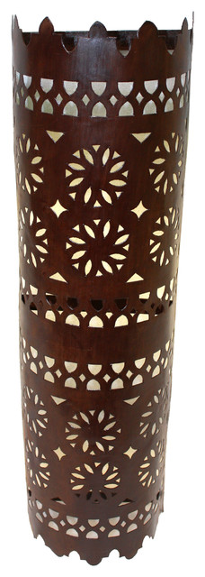 Moroccan Rustic Iron Wall Sconce - Mediterranean - Wall Sconces - by Badia Design Inc.