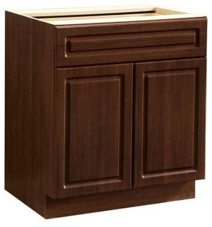 In Cherry 8013405P Contemporary Kitchen Cabinets By Home Depot