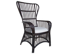 Nassau Wing Back Chair asian-armchairs