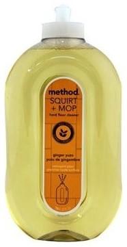 Method Hard Floor Cleaner, Ginger Yuzu, 6 Bottles contemporary-vacuum-and-floor-care-accessories