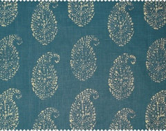 Kashmir Paisley by Peter Dunham Textiles asian upholstery fabric