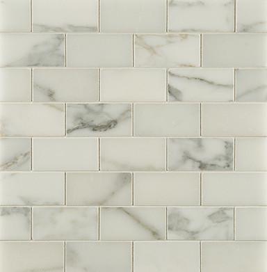 Calacatta Borghini Stone Tile transitional-tile