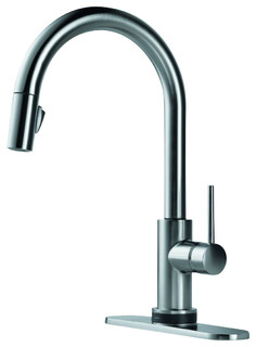 Pull-Down Kitchen Faucet Featuring Touch2O - Contemporary - Kitchen ...