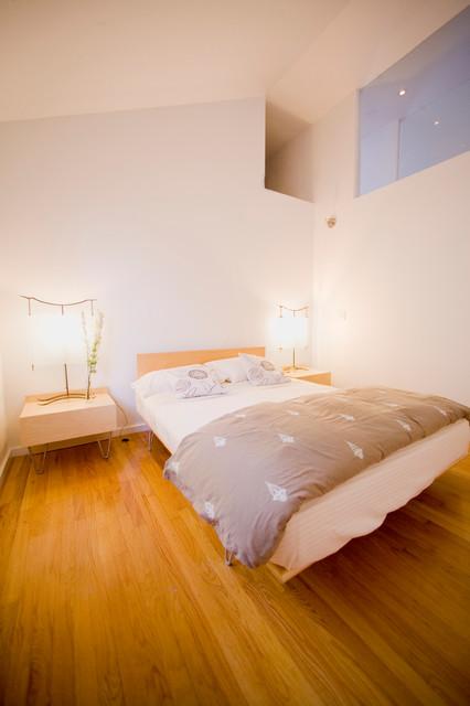 Guilbeau Baird Residence modern-bedroom