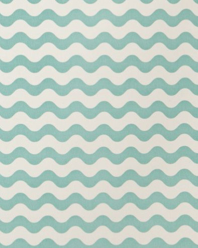 Ric Rac Fabric in Pool by Studio Bon contemporary fabric