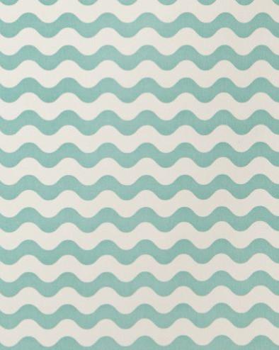 Ric Rac Fabric in Pool by Studio Bon contemporary-fabric
