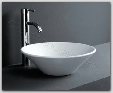 Cone Porcelain Modern Bathroom Vessel Bowl Ceramic Sink  bathroom sinks