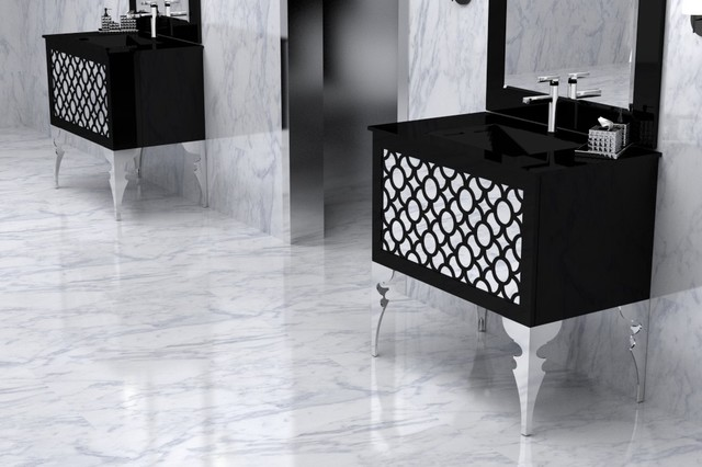 Sink consoles furniture gustitosmios for Furniture guild bathroom vanities
