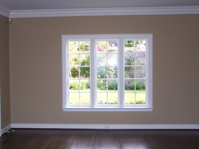 Interior windows and bathrooms traditional