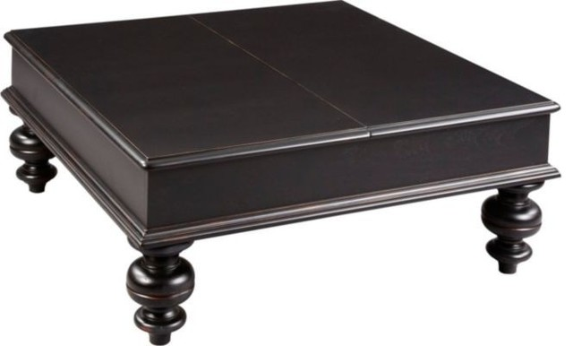 Broyhill Furniture Thorndale Square Lift Top Coffee Table And End Table Set Traditional