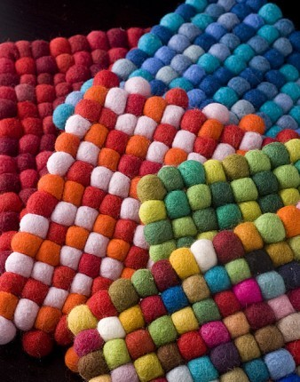 BNB Crafts Felt Hot Pads from Nepal eclectic-oven-mitts-and-pot-holders