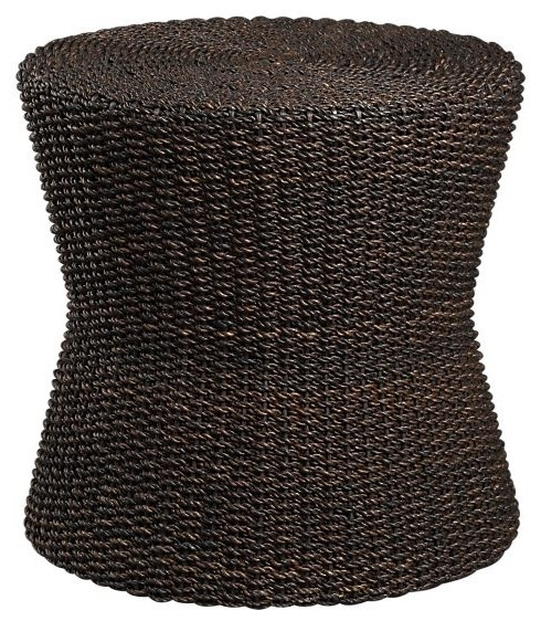 Abaca Ottoman | Crate and Barrel eclectic-footstools-and-ottomans