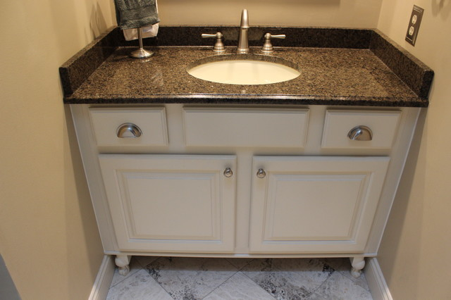 Bathroom Vanity, Medina, OH #1 ~ Granite Countertop - Traditional ...
