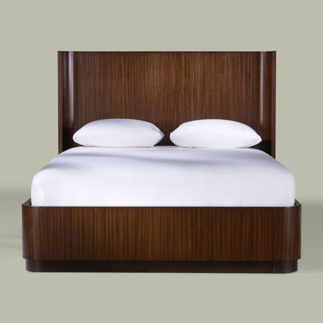 modern glamour bryant bed - traditional - beds - by Ethan Allen