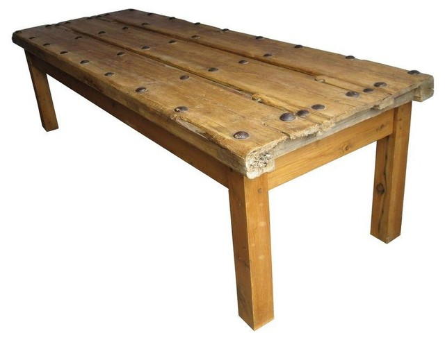 Antique Spanish Door Coffee Table Rustic Coffee Tables By Chairish
