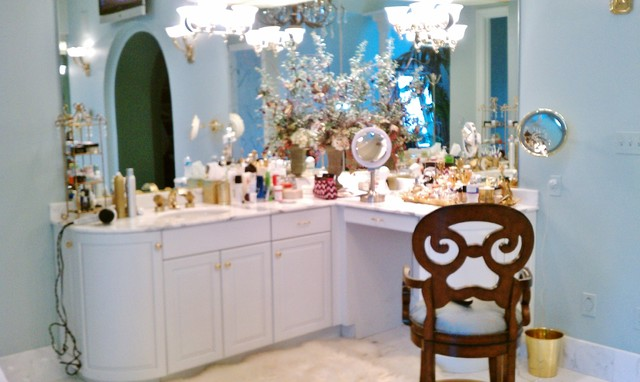 A Truly Grand Vanity! traditional-bathroom-vanities-and-sink-consoles