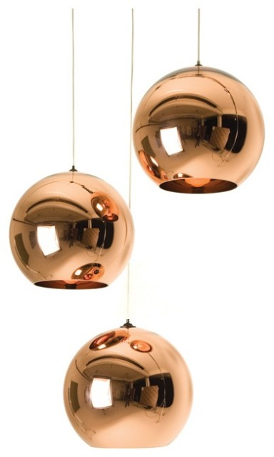 tom dixon copper shade pendant midcentury pendant lighting by abc carpet home. Black Bedroom Furniture Sets. Home Design Ideas