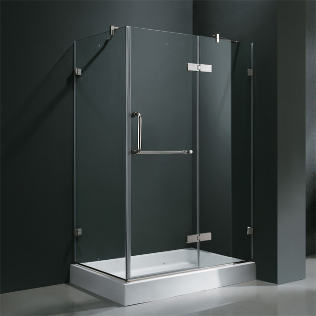 Vigo Vg6011chcl36 36 Quot X 48 Quot Frameless Shower Enclosure