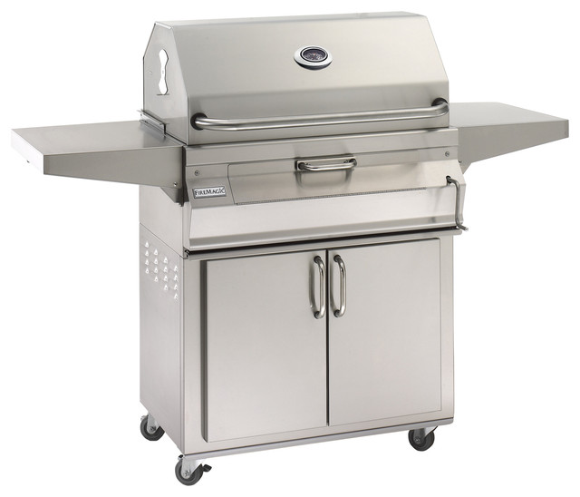 Fire Magic Legacy Charcoal Grill 30 X18 With Smoker