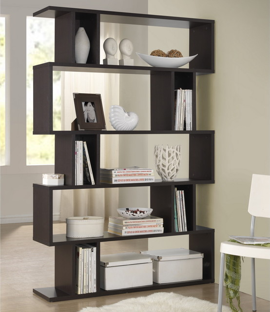 Baxton Studio Samuel Dark Brown Espresso Modern Storage