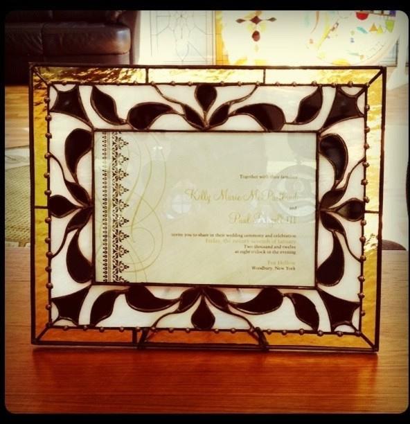 stained glass frames picture frames san diego. Black Bedroom Furniture Sets. Home Design Ideas