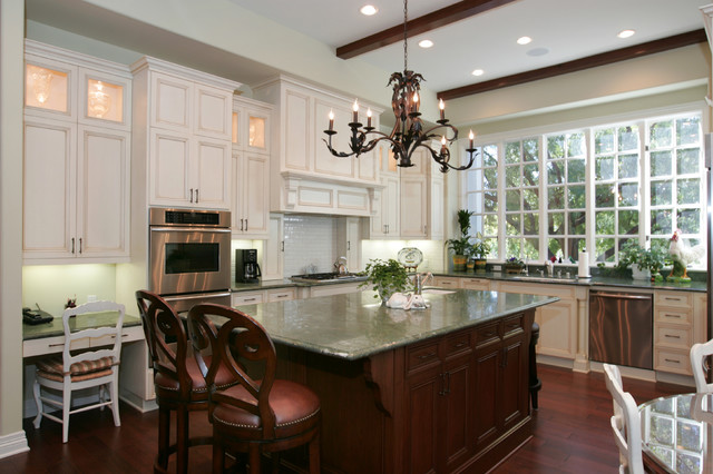 Westlake Village French Country Kitchen Remodel Traditional Kitchen Other Metro By