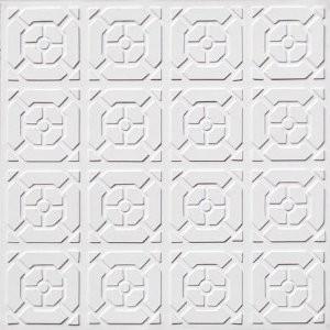 102 Faux Tin Ceiling Tile Glue up 24x24 ceiling-tile