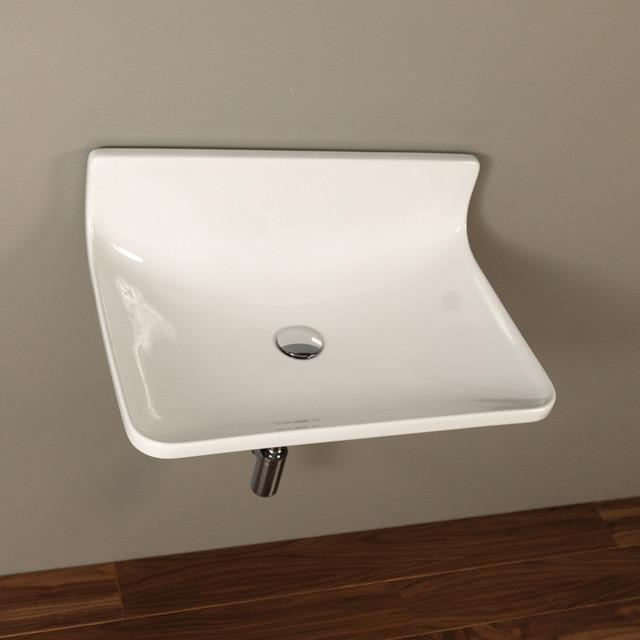 BLOCK Sink #4500P contemporary-bathroom-sinks