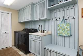 Elegant Standard Wall Cabinetry Works For Laundry Storage