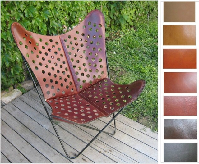 """*Original* BKF BUTTERFLY CHAIR """"Quinta"""" Hand Made Leather Sling Chairs Accent modern-chairs"""