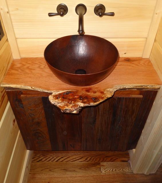 Rustic & Traditional Bathrooms rustic-bathroom